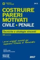 Costruire Pareri Motivati Civile e Penale 2017
