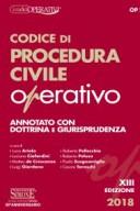 Codice di Procedura Civile Operativo 2018