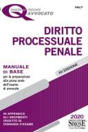 I Quaderni dell'Aspirante Avvocato - Diritto Processuale Penale