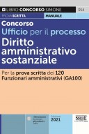 Concorso Ufficio per il processo – Diritto amministrativo sostanziale – 354
