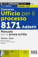 Concorso Ufficio per il Processo 8171 Addetti – Manuale per la prova scritta – 356