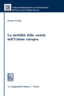 La mobilità delle società nell'Unione europea