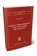 La dimensione e l'incidenza dell'informazione sui poteri e sulle responsabilità nelle società per azioni