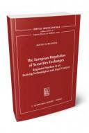 The european regulation of securities exchanges