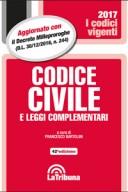 Codice civile vigente 2017