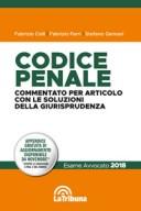 Codice penale commentato per articolo con le soluzioni della giurisprudenza