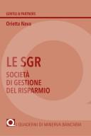 Le SGR. Società di gestione del risparmio