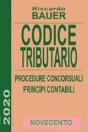 CODICE TRIBUTARIO Procedure concorsuali - principi contabili 2020