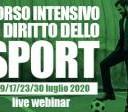 Live webinar - Corso intensivo in diritto dello sport