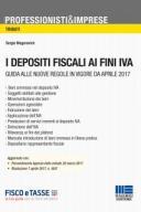 I depositi fiscali ai fini IVA 2017