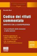 Codice dei rifiuti commentato 2017