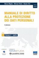 Manuale di diritto alla protezione dei dati personali 2019