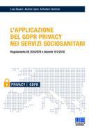 L'applicazione del GDPR privacy nei servizi sociosanitari 2018