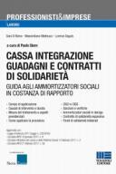 Cassa integrazione guadagni e contratti di solidarietà 2017
