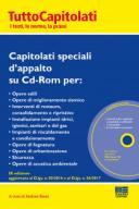 Capitolati speciali d'appalto su Cd-Rom 2018